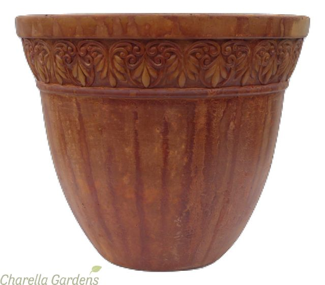 The Rustic Pottery Collection available in 5 sizes