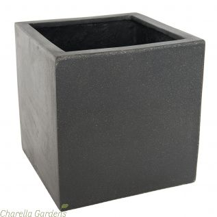 The Onyx Polylite Square Pot Collection - Upto 5 Size Options