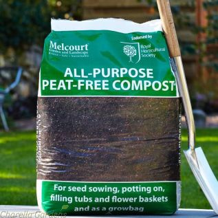 Melcourt Peat Free All Purpose Compost.