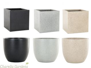 The Magma Collection of Planters available in various sizes